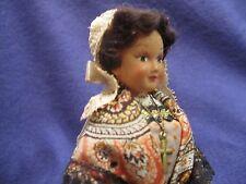 """Vintage 7"""" Doll 1950's Le Minor Justine de SAINT LO Made In France EUC"""