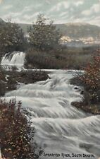 (351) Rare Vintage Postcard of Spearfish River, South Dakota
