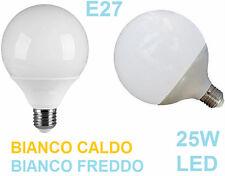 Lampada LED E27,luce bianca,25W,bianco freddo caldo lampadina sfera sferica 25 W