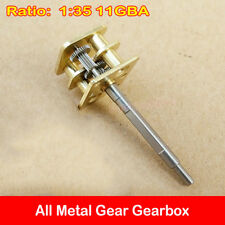 1:35 11GBA Precise Gearbox All Metal Gear Reducer Speed Reduction for 050 Motor