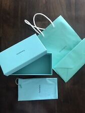 Tiffany & Co. 100% Authentic Turquoise Empty Sunglasses Box With Cloth And Bag