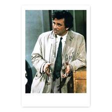 Peter Falk alias Columbo - Autogrammfotokarte [AK1]
