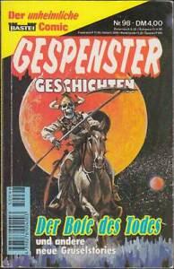 Gespenster Geschichten TB Band 98: Der Bote des Todes (1. Auflage 1995) Z 2-3