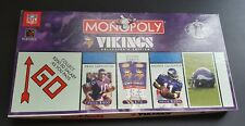 Minnesota Vikings Collectors Edition Monopoly NFL Vikings Collectible monopoly