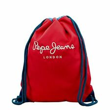 Pepe Jeans bicolor Boy mochila tipo casual 0.67 litros color rojo