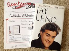 JAY LENO In-Person Signed Book with a SuperStars Gallery (SSG) COA - PROOF