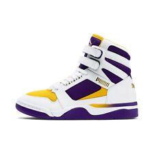 Puma Men's PALACE GUARD MID FINALS Shoes Puma White/Prism Violet 370596-01 d
