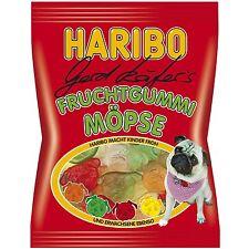 Haribo Gerd Käfer's Pugs - FRUIT gummy bears -150g