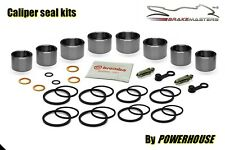 Cagiva V Raptor 1000 front brake caliper piston seal repair rebuild kit 2002 set