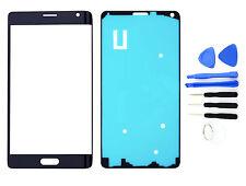 FRONTGLAS für SAMSUNG Galaxy Note 4 EDGE Schwarz White Glas Display Touchscreen