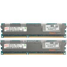 Hynix 8GB 2x4GB 2RX4 PC3-10600R DDR3 1333MHz ECC REG Registered Server Memory