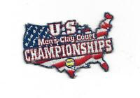 U.S. Men's Clay Court Championships Embroidered Tennis Patch Houston Texas