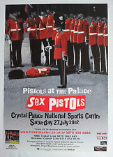Sex Pistols at the Palace 2002 original concert poster