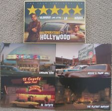 ONCE UPON A TIME ... IN HOLLYWOOD FYC PROMO 4 POSTCARDS STAMPS QUENTIN TARANTINO