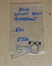 emco unimat basic pc lathe quadrant 0320