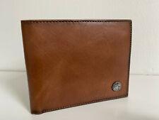 VINTAGE PENGUIN Tan Vegan Leather Wallet 6 credit cards, cash, photo comparments