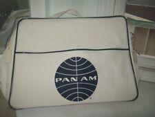 Vintage Pan American Airlines Pan Am Travel Bag