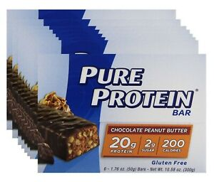 Pure Protein Chocolate Peanut Butter 1.76 oz, 8 BOX SPECIAL, 6/2021