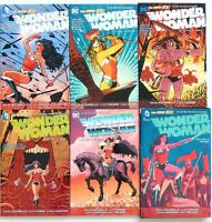 Wonder Woman TPB 1-6 Azzarello Chiang DC Comics New 52 Graphic Novel - $102.00