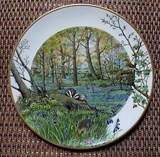 Peter Barrett Franklin Mint Porcelain 1979 Plate The Woodlands In April Perfect