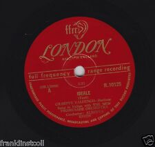 Giuseppe Valdengo on 78 rpm London R10125: Ideale/La Serenata (both Tosti)