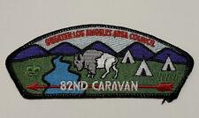 Boy Scout Greater Los Angeles Area Council 82nd Caravan CSP SA-1