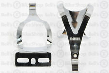 MKS Demi Mini Steel Toe Clips Classique Chrome Japan Made Pédale Clip Fixed Gear
