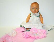 Vintage 1986 Eegee Baby Doll Hard Plastic Jointed Dress Extra Clothing
