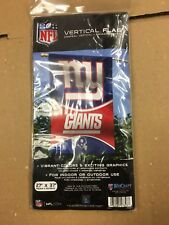 """WINCRAFT NEW YORK GIANTS VERTICAL FLAG 27"""" X 37""""  NY"""