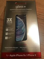 ZAGG Invisible Shield Glass + Screen Protection for iPhone X / XS