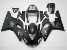 Fairing Matte Black Injection ABS Plastic Fit for 1998-1999 Yamaha YZF R1 g18