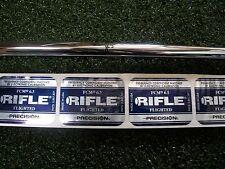 NEW Uncut STEEL Rifle Precision Flighted 6.0 Stiff Flex #3-PW Iron Shafts .370
