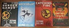 Hunger Games Set by Suzanne Collins Hardback Books plus Campanion book