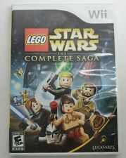 LEGO Star Wars The Complete Saga (Nintendo Wii) Tested • Complete • Free Ship!