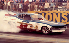 Don Schumacher's Barracuda early 70's Funny Car 1/32nd Scale Slot Car Decals