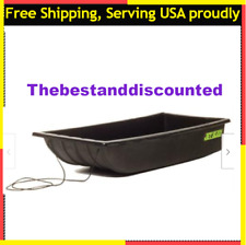 Shappell Jet Sled Ice Fishing Snow Hauler Hunting Gear Carrier Black Outdoor