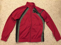 NEW NWT Puma Tricot Cat Track Athletic Jacket Sport Lifestyle, Red, Mens Small S
