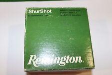 Remington 12ga Orange/Green ShurShot Empty Box