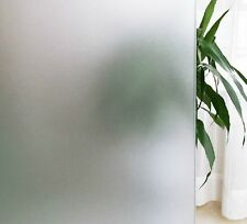 2ft x 6.5ft Static Cling Window Film Fenetre Frosted Privacy Glass