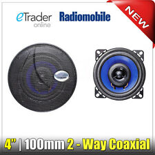 "4"" Speakers 70W 2-Way 4 Inch 10cm Car Van Door Shelf Coaxial Speaker Pair Cheap"