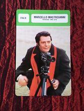 MARCELLO MASTROIANNI   -  MOVIE STAR - FILM TRADE CARD - FRENCH  - #2