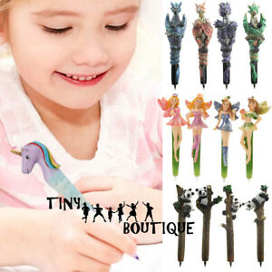 Boy Girl Novelty Pen Kids Fun Stationary Writing Accessories Gift Back to School