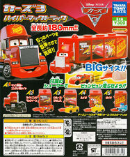 Disney PIXAR Cars 3 Hyper Mack Track Gashapon McQueen Cruz Luigi Guido Set 5pcs
