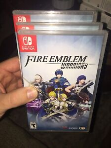 Fire Emblem Warriors (Nintendo Switch, 2017) Brand New Factory Sealed