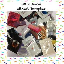 AVON 30 Mixed Samples. 4x Lipstick Mini. 4x Fragrance Vials  And 22x Assorted