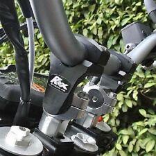"ROX SPEED FX 2"" BLACK adjustable pivot riser RENEGADE OUTLANDER 1 1/8"" ONLY BAR"