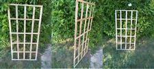THREE Garden Trellises  4ft x 2ft Recycled Wood.Handmade POST FREE