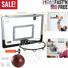 Mini Basketball Hoop System Outdoor Indoor Home Office Wall Basketball Net Goal