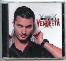 """CD  / NEUF SOUS BLISTER / DAVID VENDETTA """"VENDETTA"""" / NEUF JAMAIS SERVI"""