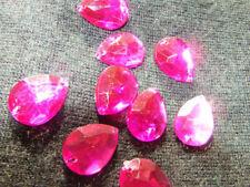 Multi Colour Rhinestone Jewellery Making Beads
